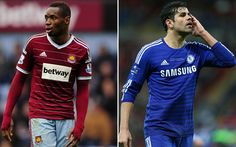 West Ham United v Chelsea, Premier League - Latest score, news updates, live match report and result from Upton Park on Wednesday March 4 kick-off Chelsea Premier League, Upcoming Matches, Live Feed, Live Matches, West Ham, Football Match, Kicks, Shit Happens, Sports