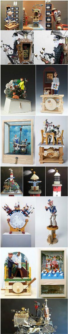 Keith Newstead's clockwork toys