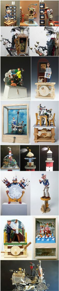 Keith Newstead's clockwork toys
