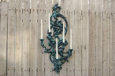 Ornate 5 candle sconce