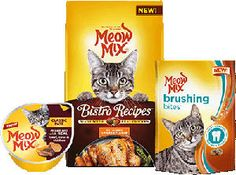 FREE Meow Mix Brushing Bites Cat Treats and Paté Wet Cups (Mailed Coupon) on http://www.icravefreebies.com/