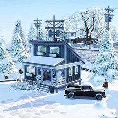 Snowboarding, Tiny House, Cabin, House Styles, Home Decor, Snow Board, Decoration Home, Room Decor, Cabins