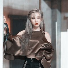 Kpop Girl Groups, Kpop Girls, Insomnia, Pretty People, Her Hair, Dream Catcher, Jimin, Icons, Asian