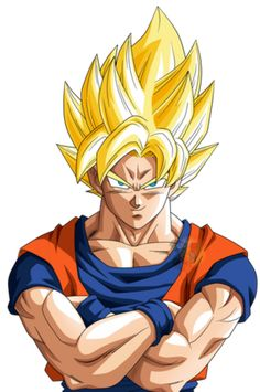 Goku Ssj #5 |FacuDibuja by FacuDibuja on @DeviantArt