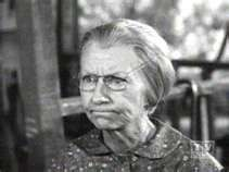 Irene Ryan as Granny Clampet from the Beverly Hillbillies