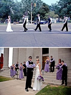 wedding party pictures i want to top one for sure!! it would be so cute with jon and his brothers! =]