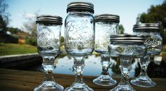 I already have one Hillbilly Wine Glass, but I think I might need a whole set so I can get even classier.