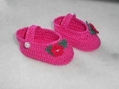Sapatinho em Crochet
