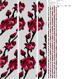 Beaded beads tutorials and patterns, beaded jewelry patterns, wzory bizuterii koralikowej, bizuteria z koralikow - wzory i tutoriale Crochet Bracelet Pattern, Crochet Beaded Necklace, Beaded Necklace Patterns, Bead Crochet Patterns, Bead Crochet Rope, Beading Patterns, Beaded Crochet, Bead Loom Bracelets, Beaded Crafts