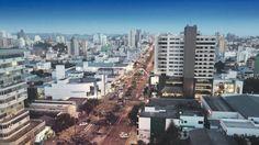 """O nome de Chapecó, município de Santa Catarina, deriva da língua caingangue e significa """"donde se avista o caminho da roça""""."""