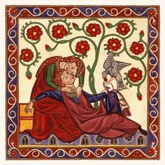 Find out what courtly love was and how it ruled society in medieval times. Medieval Times, Medieval Art, Medieval Manuscript, Illuminated Manuscript, Renaissance, Courtly Love, Medieval Paintings, Early Middle Ages, Byzantine Art
