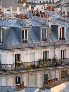 Montmartre Quarter, Balconies, Paris XVIII