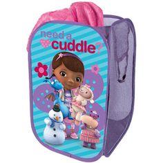 Doc McStuffins Doc McStuffins 'Need a Cuddle?' Pop-Up Hamper by Doc McStuffins Doc Mcstuffins, Baby Pop, Nursery Furniture, Kids Furniture, Queen, Baby Disney, My Baby Girl, Baby Girls, Kids Bedroom