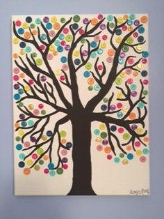 Button Tree by AbbysCustomCrafts on Etsy