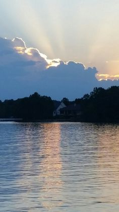 Sunset on Lake Norman,  NC