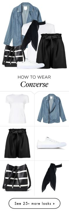 Designer Clothes, Shoes & Bags for Women Outfits With Converse, Converse Shoes, Stylish Outfits, Cool Outfits, Girl Fashion, Womens Fashion, Elegant Outfit, Helmut Lang, Polyvore Outfits