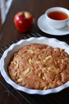 Vintage recipes: Apple and Walnut Tea Cake from the late 1960s | Wandering Spice