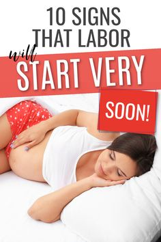 10 Signs that labor is coming soon! If you are in your third trimester of pregnancy particularly above 36 weeks then you baby could be due any moment. Find out how close to labor you really are with these 10 helpful signs. #pregnancy #childbirth #pregnant #birth All About Pregnancy, First Pregnancy, Pregnancy Tips, Signs Of Labour, 36 Weeks Pregnant, Second Trimester, Trimesters Of Pregnancy, Diy Hair Bows, Brown Skin