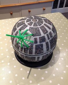 Star Wars cake - Death Star - For all your cake decorating supplies, please visit craftcompany.co.uk