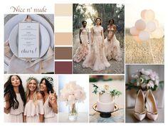 Inspire Me: Nude Wedding - Wedding Blog UK