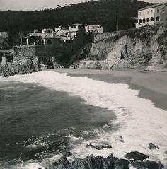 Playa de Calella de Palafrugell   por Biblioteca Facultad de Empresa y Gestión Pública