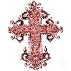 vintage - beautiful - intricate cross