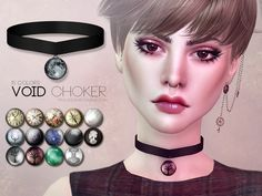 The Sims Resource: Void Choker by Pralinesims • Sims 4 Downloads
