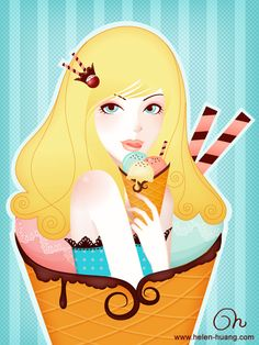 Icecream by CQcat.deviantart.com on @deviantART
