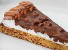 IKEA Almond cake with chocolate & butterscotch pieces (which are to die for!)