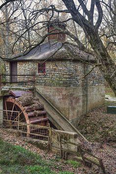 Mill In Markham, Missouri