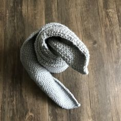 Items similar to Silver Grey Crochet Scarf on Etsy My Etsy Shop, Trending Outfits, Grey, Crochet, Unique Jewelry, Handmade Gifts, Silver, Shopping, Vintage