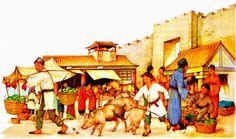 China: la dinastía Qin 221-206 a.C. ~ Temas de historia universal