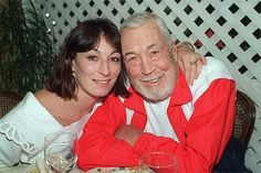 Anjelica and her father John Huston