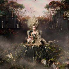 "2015 Alexia Sinclair, Australian fine art photographer - ""Into the Gloaming"""