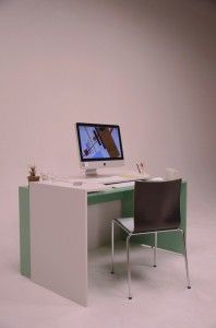 Expandable Modern Desk Designed for Worker - Siori