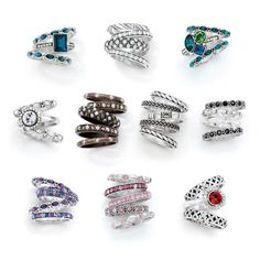 Stacked rings by Brighton