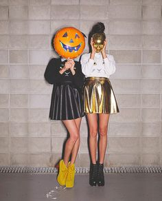 Halloween metallic style! #metallic #style #fashion