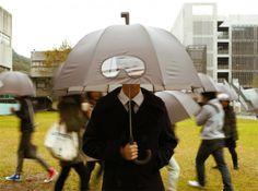 Ombrelli per essere creativi sotto la pioggia: io voglio questo!!!!! #ombrelli #pioggia #badweather #autumn