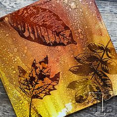 Alcohol Ink Tiles, Alcohol Ink Glass, Alcohol Ink Crafts, Alcohol Ink Painting, Stencil Printing, Ranger Ink, Ink Pads, Tim Holtz, Art Techniques