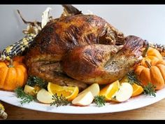 Easy & Juicy Whole Roasted Turkey Recipe- Brined! | Divas Can Cook
