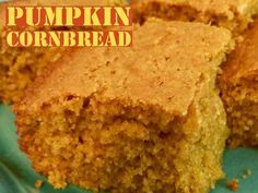 Recipe: Pumpkin Cornbread  http://www.momspantrykitchen.com/pumpkin-cornbread.html