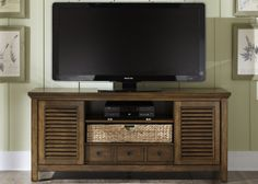 Summerhill II Entertainment TV Stand | Liberty | Home Gallery Stores
