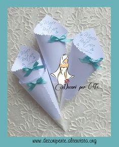 CONI RISO TIFFANY Tiffany Wedding Cones
