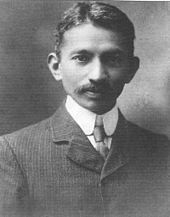 Mahatma Gandhi in South Africa, 1909. Read more about Gandhi: http://globalbusiness.me/2014/10/02/some-reflections-on-mahatma-gandhis-birthday-2/
