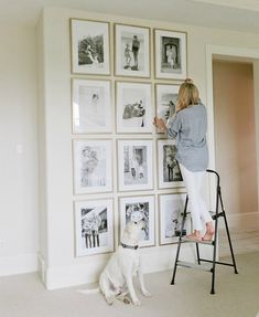 Links I'm Loving Gallery Wall Ivory Lane Live In Style, Photo Boards, Decoration, Instagram, Home Living Room, Wall Art, Diy Home Decor, Diy Crafts, Bedroom