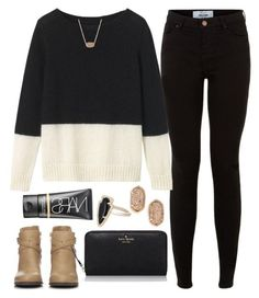 baby it (isn't) cold outside by alexisfloyd on Polyvore featuring Toast, New Look, Wallis, Kate Spade, Kendra Scott and NARS Cosmetics