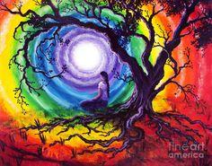 Ses caractéristiques ont été longuement étudiées afin de servir de support à la méditation :  Le point central symbolise le centre énergétique où tout prend vie dans l'espace et le temps. Il est parfait et représente l'unité autant que le commencement et la fin de toutes choses, le silence, le vide, ou le divin. Le rayonnement symbolise le mouvement perpétuel et le changement.