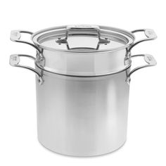 All-Clad d5 Stainless-Steel Pasta Pentola #williamssonoma | 7 qt. | WS exclusive | $455.00