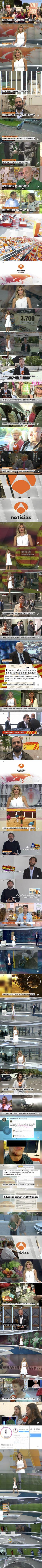 20170918 - Informativo general de ANTENA3 (A3 Noticias 1)