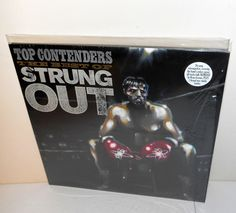 STRUNG OUT top contenders Lp Record DBL Vinyl , the best of strung out double LP #punkhardcorePunkNewWave